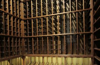 Mahogany Wine Racks for Home Wine Cellars Dallas TX Project