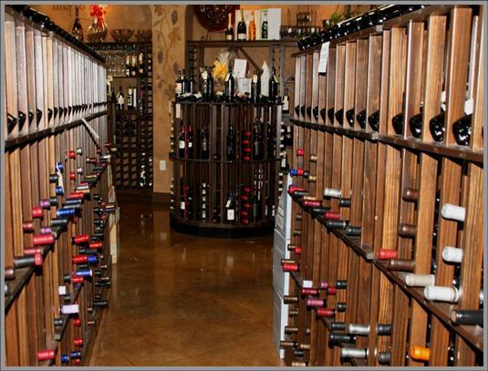 Bistro de la Reine Commercial Wine Cellar