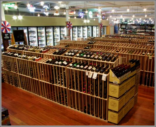 Twin Cities Commercial Wine Racking