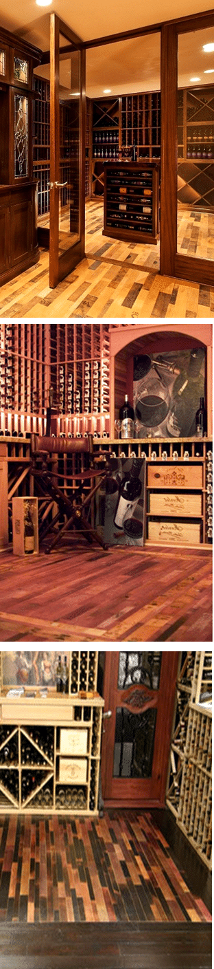 Wine Barrel Flooring
