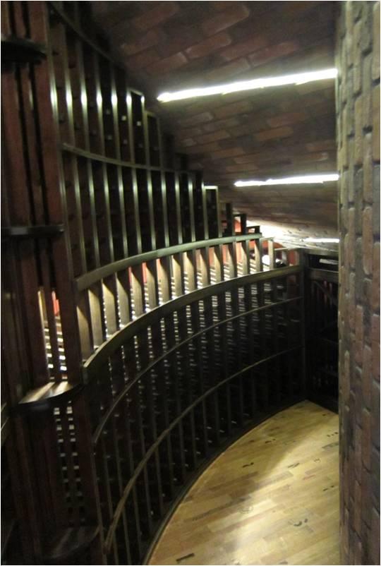 Burke wine cellar