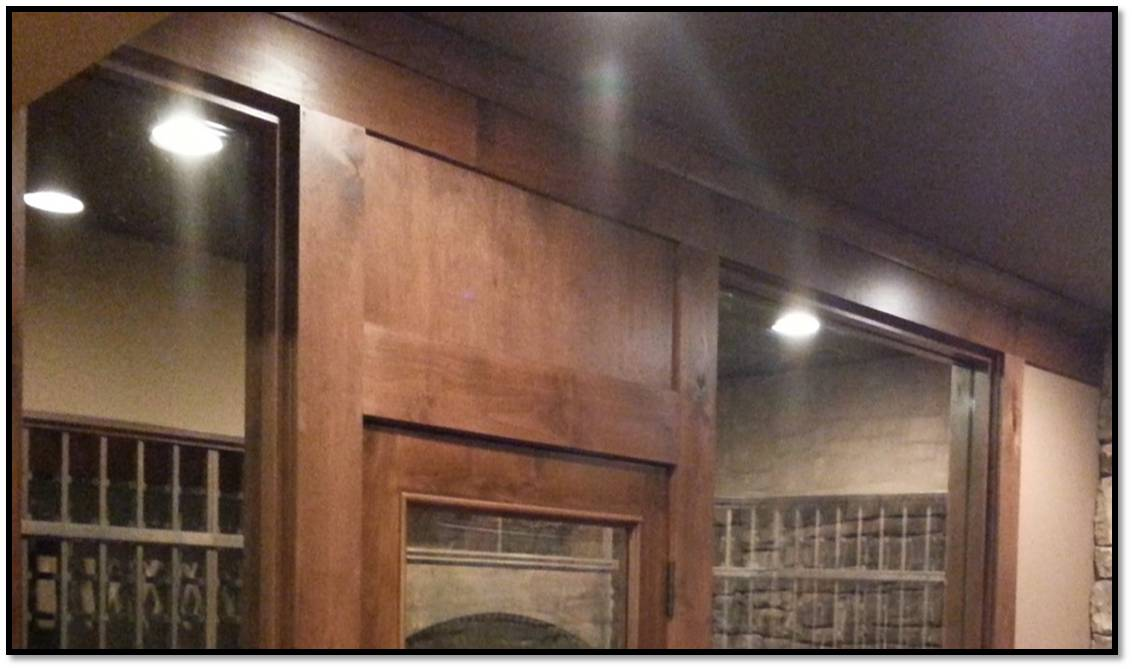 Philips wine cellar lighting