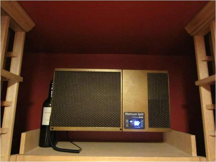 San Antonio wine cellar refrigeration system