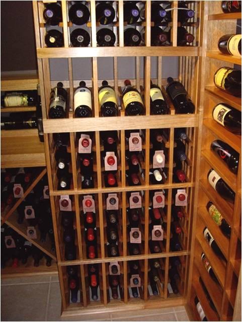 San Antonio wine cellar