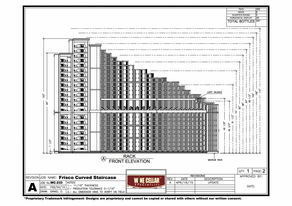 Frisco, Texas Home Wine Cellar Design