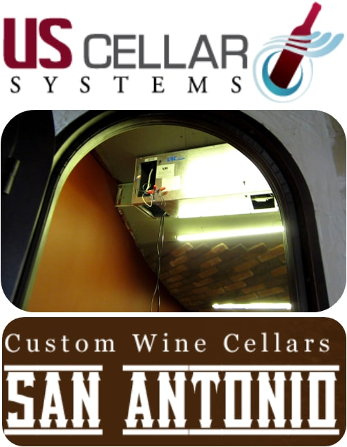 US Cellar Systems Wine Cellar Cooling San Antonio Texas
