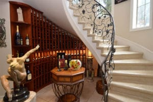 Custom Wine Racks Built in San Antonio Texas Home