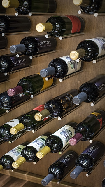 Ultra PEG Series Contemporary Metal Wine Racks