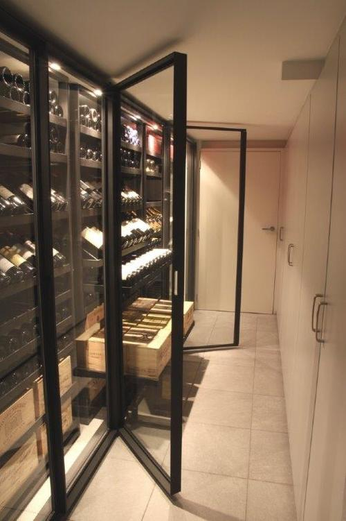 metal wine storage system Sliding Series Racks