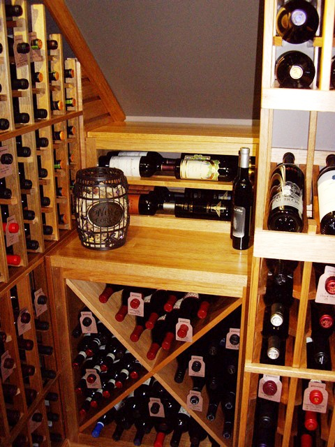Award-Winning Custom Wine Cellars Dallas Texas - Frisco Wine Closet Dann