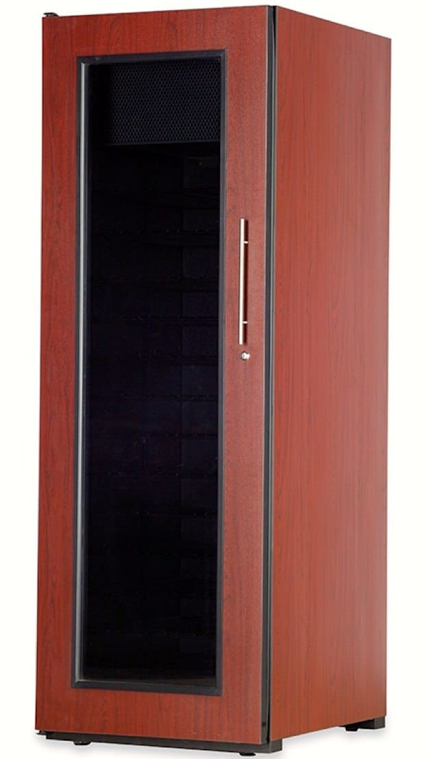 BILD 1400 Wine Cabinett Dark Finish with Window