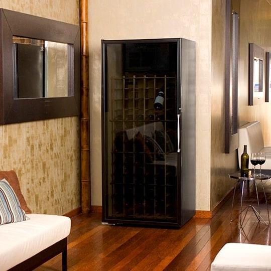 Le Cache Loft 1400 Wine Cabinet Black Matte