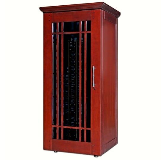 Le Cache Mission 1400 Wine Cabinet Classic Cherry