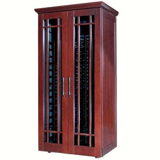 Le Cache Mission 2400 Wine Cabinet Classic Cherry