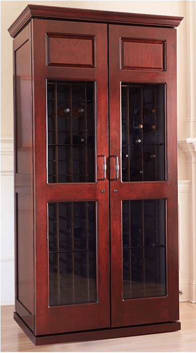 Le Cache Mission Wine Cabinet by San Antonio Builders