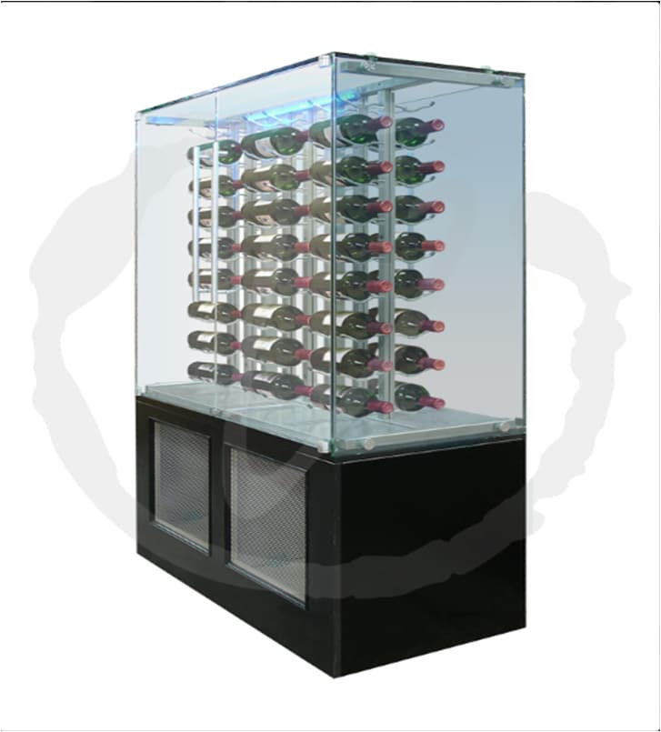 Vinotemp Custom Glass Wine Cabinet San Antonio