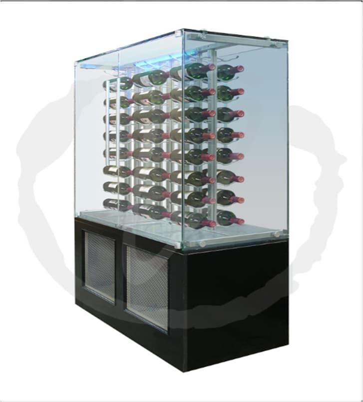 Vinotemp Custom Glass Wine Cabinet San Antonio