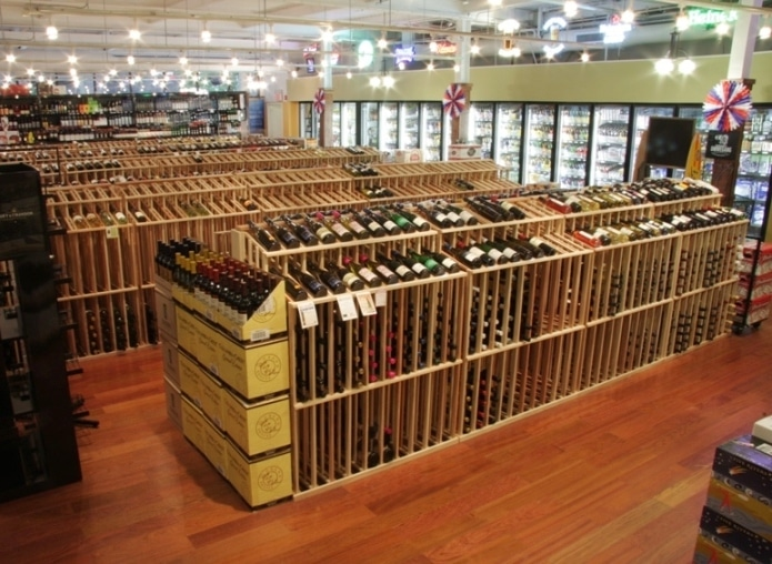 Commercial Wine Racks for Massive Storage San Antonio Wine Store (1)