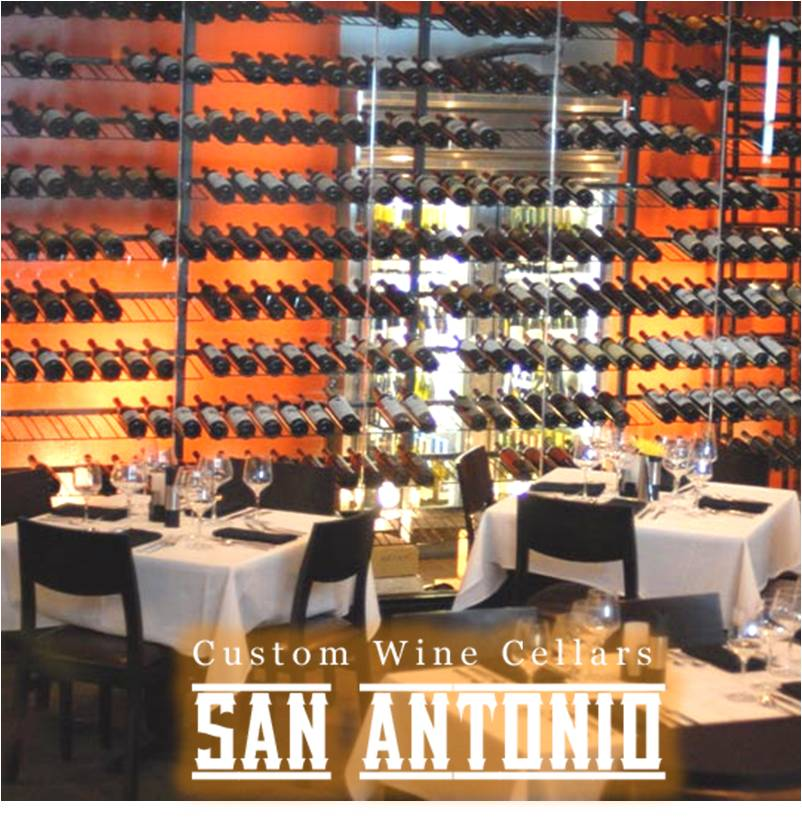 Elegant Commercial Wine Cellar San Antonio