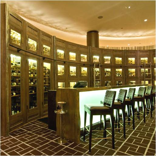 Commercial Wine Cellar in a San Antonio Hotel