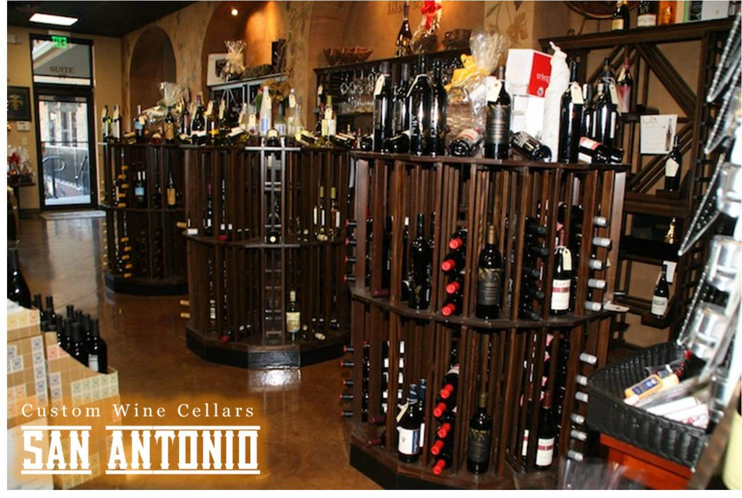 San Antonio Stylish Commercial Wine Cellar