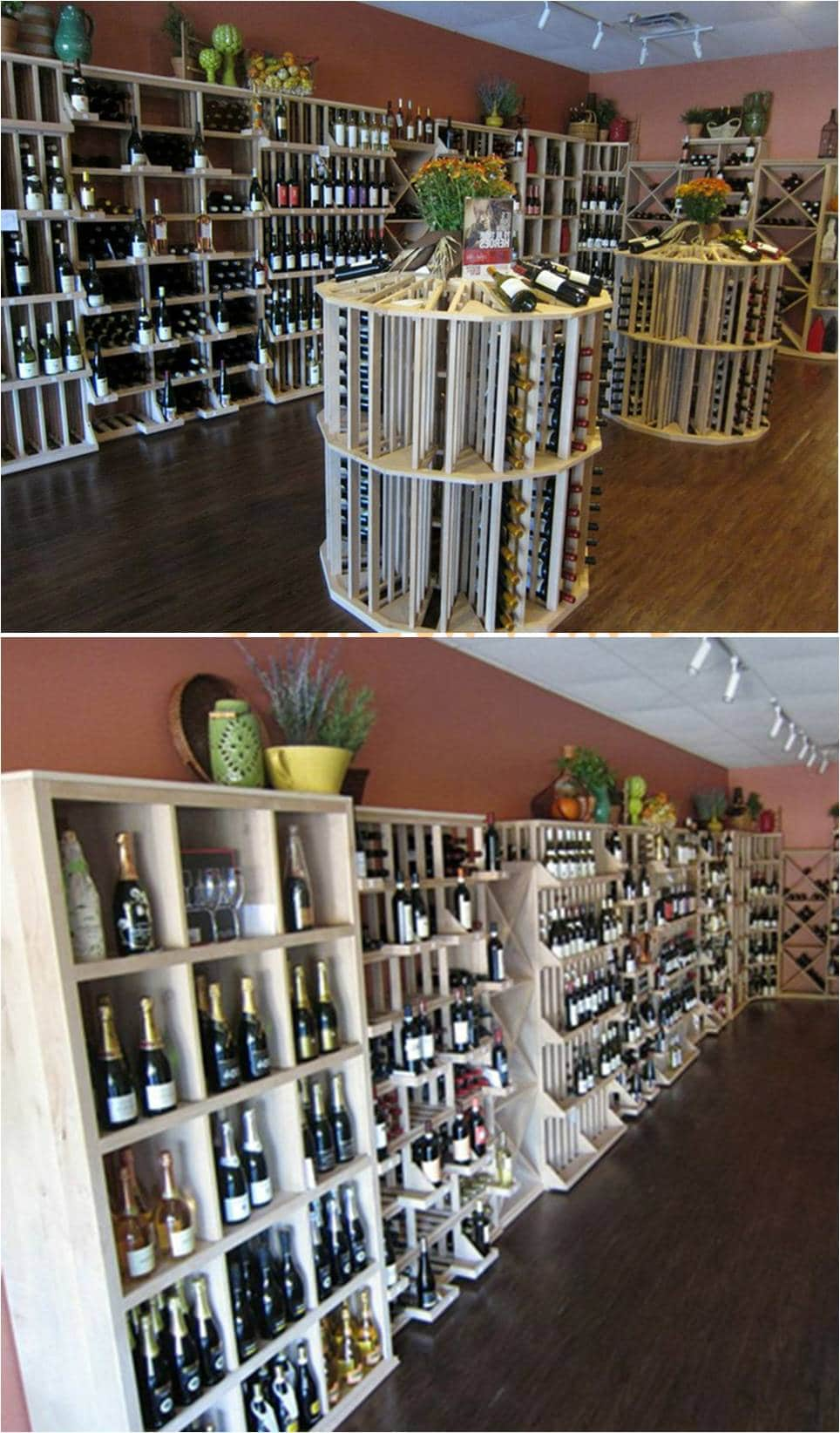 Wine Store Commercial Wine Cellar by San Antonio Experts