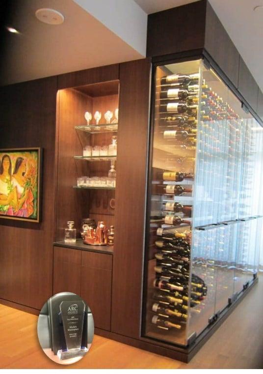 Modern Wine Cellar by Wine Cellar Specialists in Texas